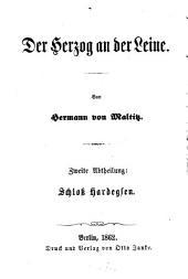Der Herzog an der Leine: Schloß Hardegsen, Band 2