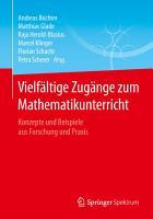 Vielf  ltige Zug  nge zum Mathematikunterricht PDF