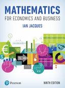 Mathematics for Economics and Business MyMathLab PDF
