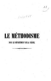 Le méthodisme dans le département de la Vienne