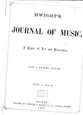 Dwight's Journal of Music: Volumes 1-2