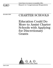 Charter Schools: Department of Education Could Do More to Assist Charter Schools with Applying for Discretionary Grants