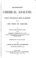 Qualitative Chemical Analysis PDF