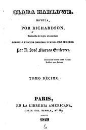 Clara Harlowe: novela, Volumen 10