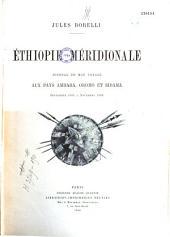 Éthiopie méridionale: journal de mon voyage aux pays Amhara, Oromo et Sidama, septembre 1885 à novembre 1888