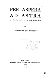 Per Aspera Ad Astra: A Collection of Poems