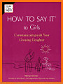 How to Say it to Girls