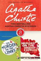 The Murder on the Links   Murder on the Orient Express Bundle PDF