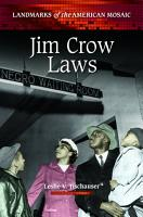 Jim Crow Laws PDF