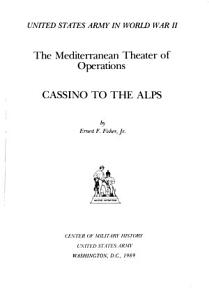 United States Army in World War II   Cassino to the Alps PDF