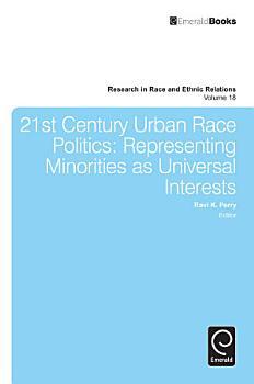 21st Century Urban Race Politics PDF