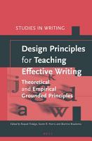 Design Principles for Teaching Effective Writing PDF