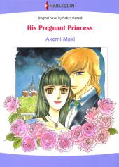 His Pregnant Princess: Harlequin Comics