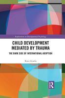 Child Development Mediated by Trauma PDF