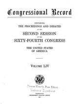Congressional Record: Proceedings and Debates of the ... Congress, Volume 54, Part 5