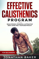 Effective Calisthenics Program for Beginners