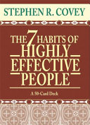 The 7 Habits of Highly Effective People Cards Prepack