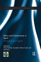 Ethics and Governance in Sport PDF