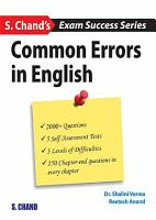 Common Errors in English PDF