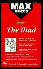 Iliad, the (MAXNotes Literature Guides)