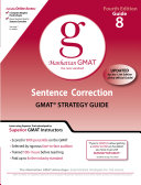 Sentence Correction GMAT Preparation Guide  4th Edition
