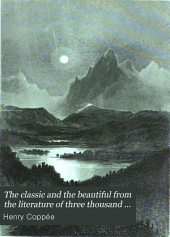The Classic and the Beautiful from the Literature of Three Thousand Years: Volume 2