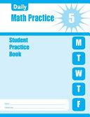 Daily Math Practice Grade 5 Student Book PDF