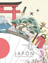Japón libro para colorear para adultos 1