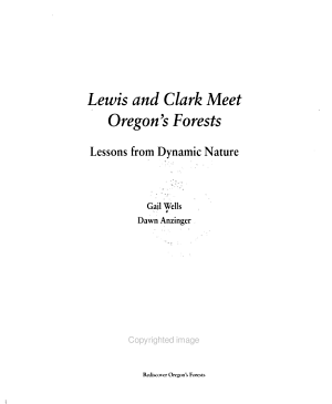 Lewis and Clark Meet Oregon's Forests