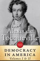 Democracy In America  Volume I   II PDF