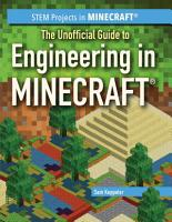 The Unofficial Guide to Engineering in Minecraft   PDF