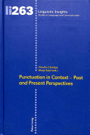 Punctuation in Context - Past and Present Perspectives