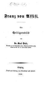 Franz von Assisi  Ein Heiligenbild PDF