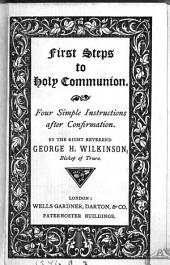 First steps to holy communion