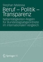 Beruf   Politik   Transparenz PDF