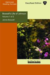 Boswell's Life of Johnson: Easyread Edition
