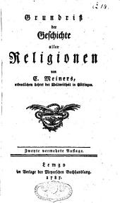 Grundriss der Geschichte aller Religionen