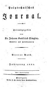 Polytechnisches Journal: Band 4