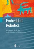 Embedded Robotics PDF