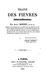 Traité des fièvres intermittentes