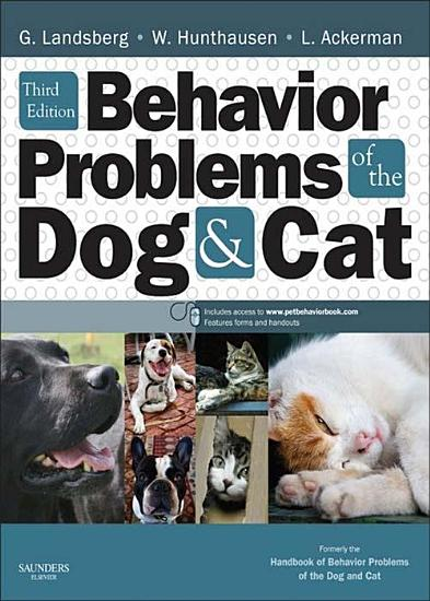 Behavior Problems of the Dog and Cat   E Book PDF