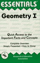Geometry I Essentials