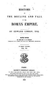 The History of the Decline and Fall of the Roman Empire, 7