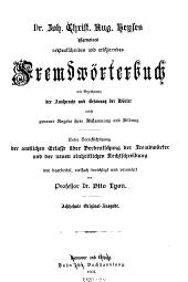 Allgemeines verdeutschendes und erklärendes Fremdwörterbuch