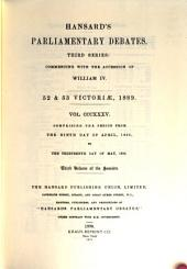The Parliamentary Debates (Authorized Edition).