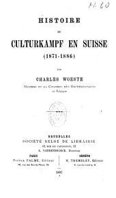 Histoire du Culturkampf en Suisse (1871 - 1886)