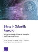 Ethics in Scientific Research