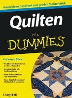 Quilten f  r Dummies PDF