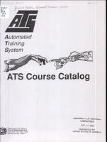 ATS Course Catalog PDF