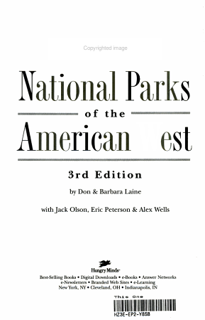 Frommer s National Parks of the American West PDF